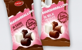 Chocolate coated Marshmallow