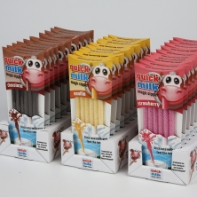 Milk-flavouring straw