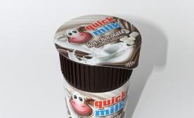 quick milk hot chocolate